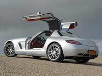 Wallpaper Mercedes-Benz SLS